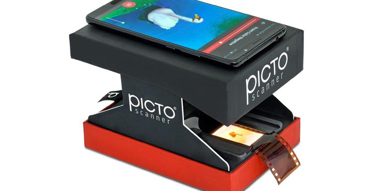 PictoScanner Test / Avis : Le scanner diapo efficace pour smartphone ?